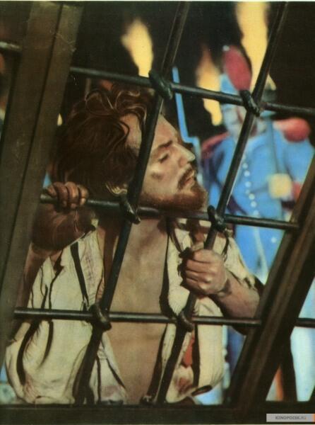 Олег Стриженов в роли Овода, кадр из к/ф «Овод», 1955 г.