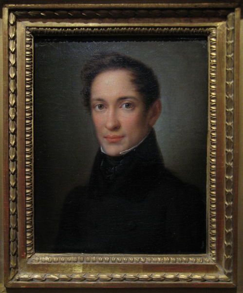 А. Збруев, «Портрет Герцена», 1832 г.