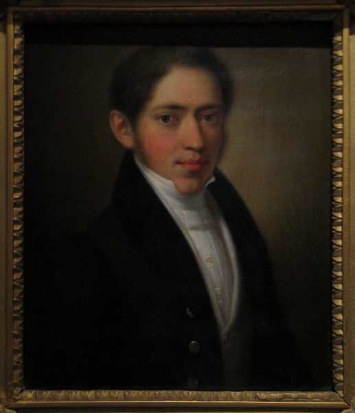 Портрет Огарёва работы неизвестного автора1830-е гг.