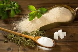 Как заменить сахар на стевию?