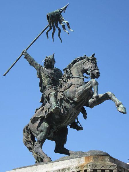 Памятник Вильгельму Завоевателю в Фалезе, Франция
