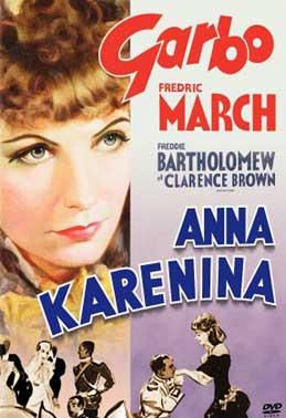 Постер фильма «Анна Каренина», 1935 г.