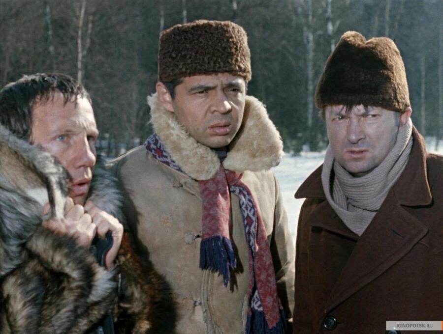 Кадр из к/ф «Джентльмены удачи», 1971 г.