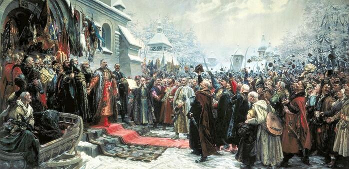 М. И. Хмелько, «Навеки с Москвой, навеки с русским народом», 1951 г.