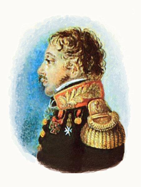 П. Э. Рокштуль, «Портрет генерал-майора Н. З. Хитрово», середина 1810-х годов