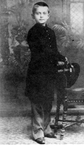 Лев Бронштейн в детстве, 1888 год