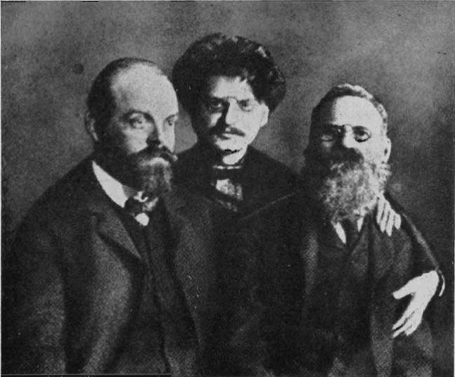 Парвус, Троцкий, Лев Дейч