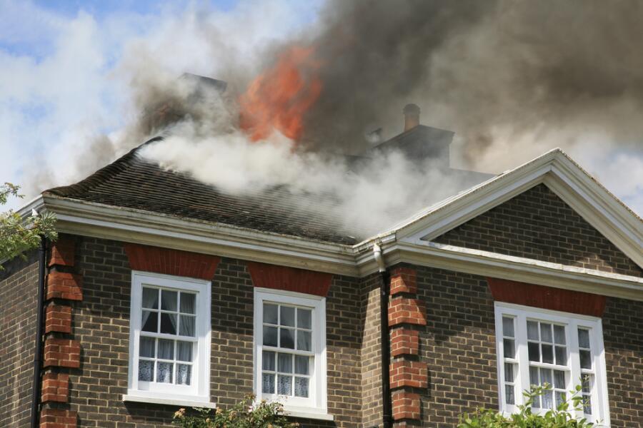 Как вести себя при пожаре?