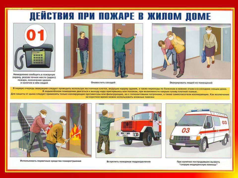 Реферат на тему что нужно делать при пожаре 4383