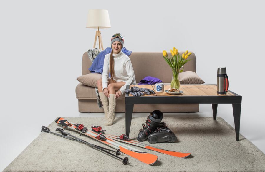 Как правильно хранить лыжи летом?