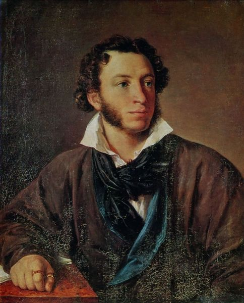 В. А. Тропинин, «Портрет Александра Сергеевича Пушкина», 1827 г.