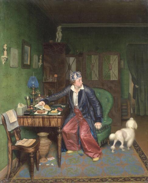 П. А. Федотов, «Завтрак аристократа», 1850 г.