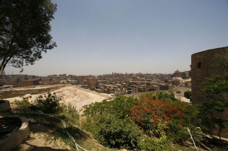 Общий вид квартала Маншият-Насир