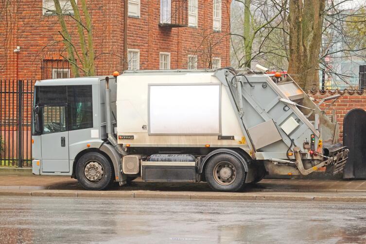 Стокгольмский мусоровоз