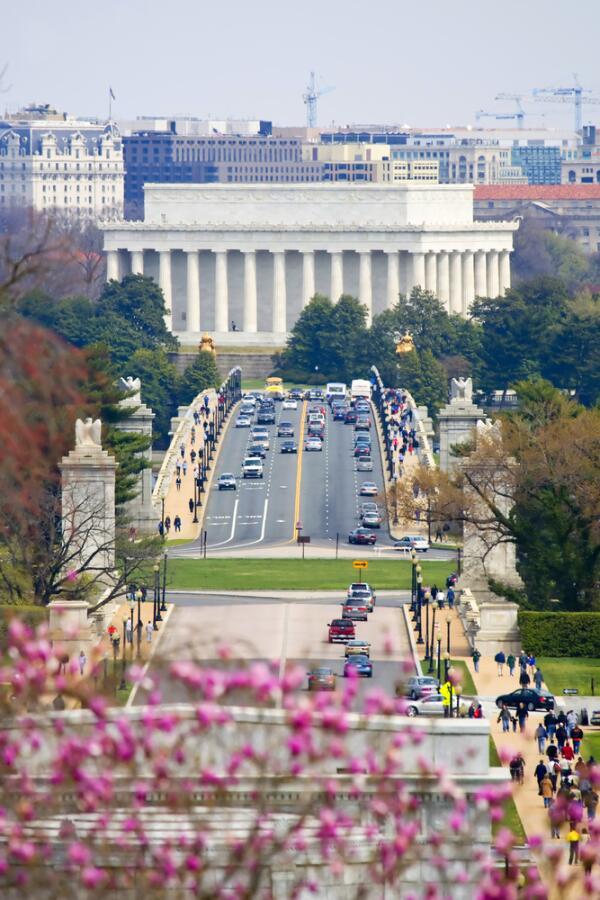Мемориал Линкольна, Вашингтон, округ Колумбия, США