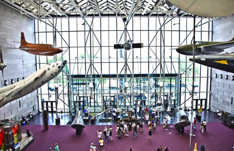 Национальный музей авиации и космонавтики в Вашингтоне, округ Колумбия, США
