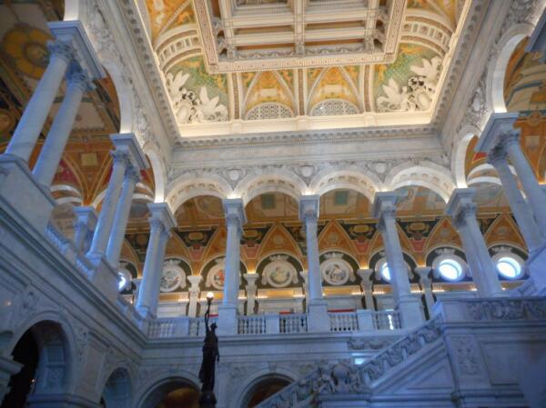 В здании библиотеки Конгресса