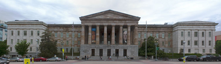 Смитсоновский музей американского искусства в Вашингтоне, округ Колумбия, США