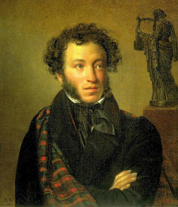 О. А. Кипренский, «Портрет А. С. Пушкина», 1827 г.