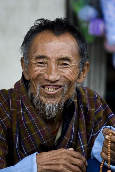 Представитель коренного населения Бутана