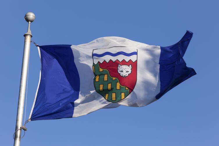 Флаг Северо-Западных территорий Канады