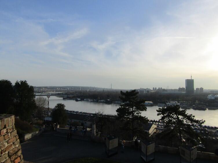 Белград, вид на Дунай