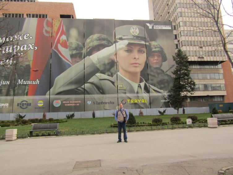 Ваш корреспондент Михаил Берсенев на месте событий