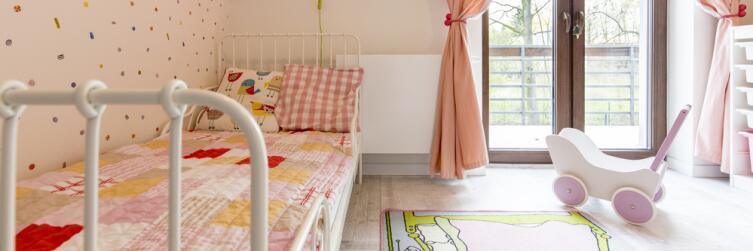 Как обустроить детскую комнату? Функционал и уют в одном флаконе