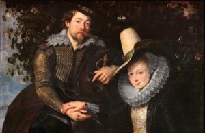 Рубенс, «Автопортрет с Изабеллой Брант». Зачем художник нарисовал шпагу?