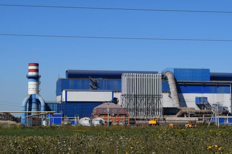 Завод по утилизации отходов