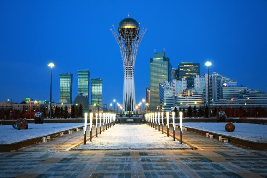 Город Астана - столица Казахстана