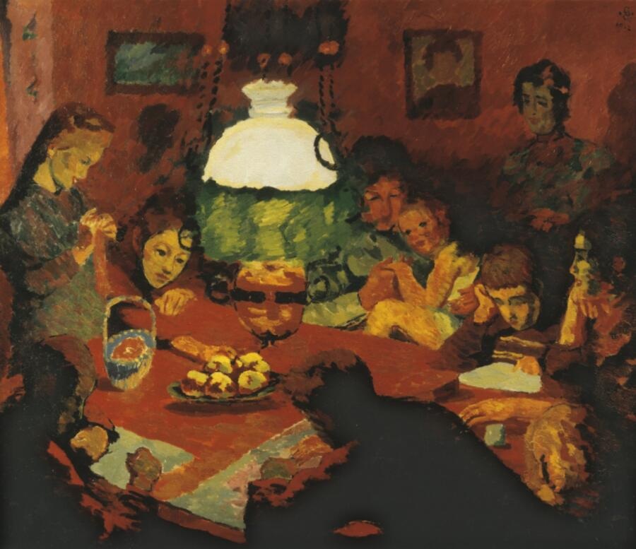 Джованни Джакометти, «Лампа», 1912 г.