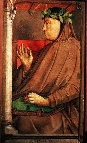 Юстус ван Гент, «Франческо Петрарка»