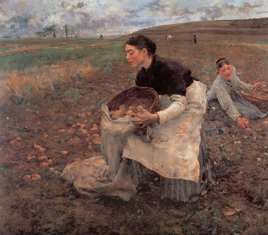 Жюль Бастьен-Лепаж, «Урожай картошки»