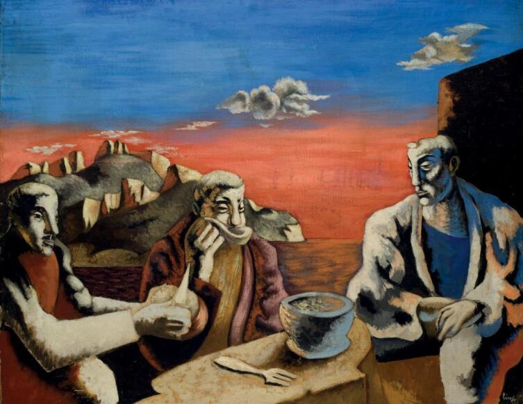 Жан Люрса, «Суп», 1936 г.