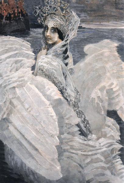 М. А. Врубель, «Царевна-Лебедь»