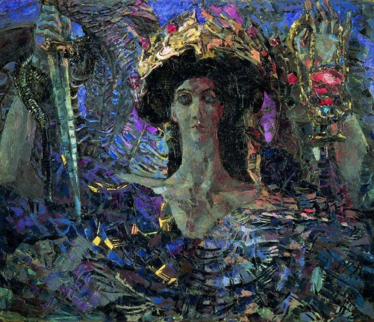 М. А. Врубель, «Шестикрылый серафим (Азраил)», 1904 г.