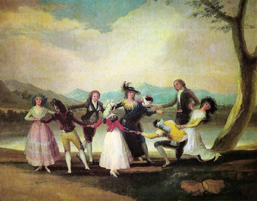 Франсиско Гойя, «Жмурки», 1789 г.