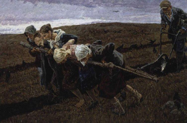 А.П. Ткачёв и С.П. Ткачёв, «Горький хлеб Победы (Русское поле)»