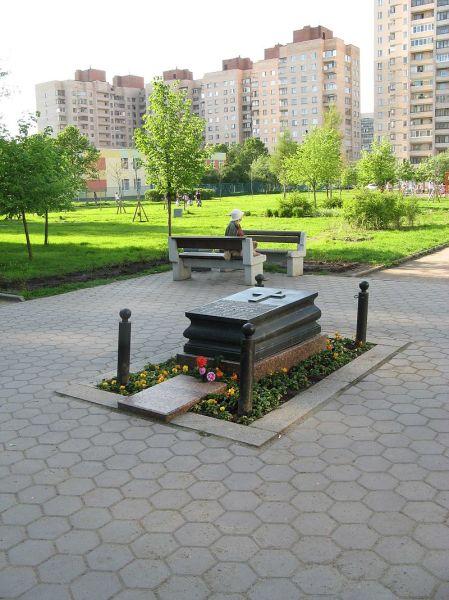 Памятный камень на месте гибели Мациевича