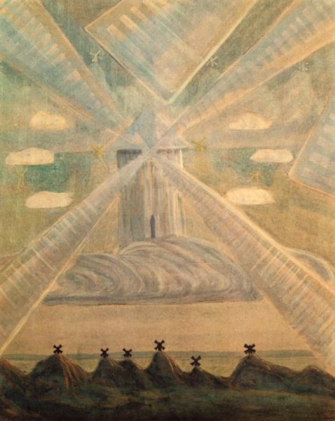 М. К. Чюрлёнис, «Соната весны», 1907 г.