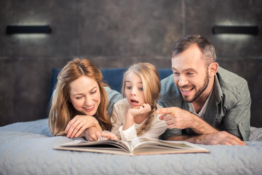 Как современному ребенку прививать любовь к книге?