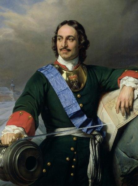 Поль Деларош, «Пётр I», 1838 г.