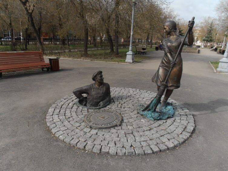 Памятник в Магнитогорске