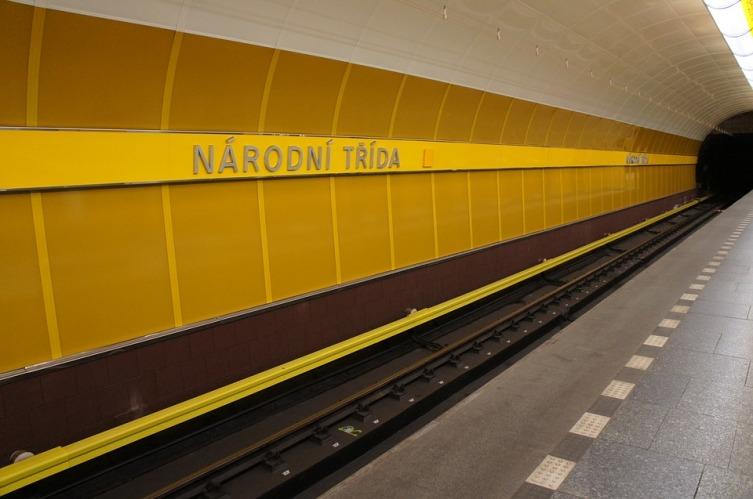Станция метро в Праге, Чехия