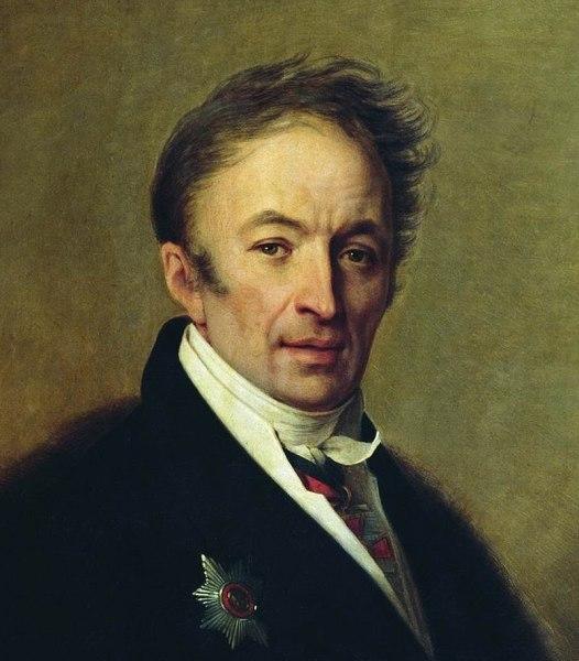 А. Г. Венецианов, «Портрет Н. М. Карамзина»
