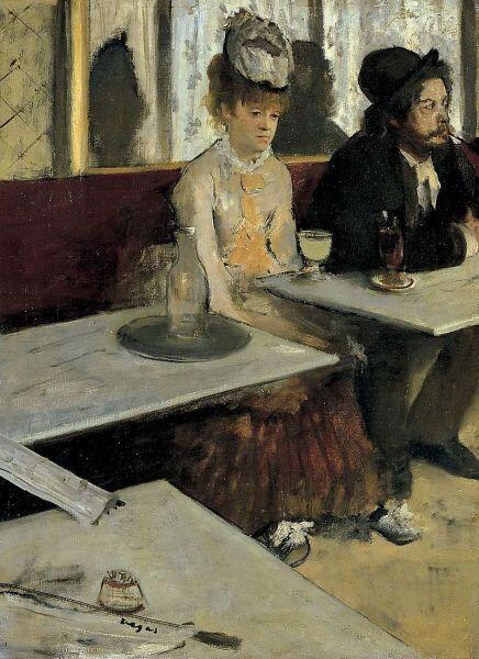 Эдгар Дега, «Абсент», 1876 г.
