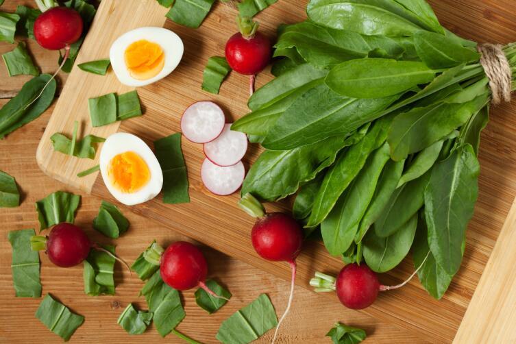 Что приготовить из щавеля? 10 самых простых салатов