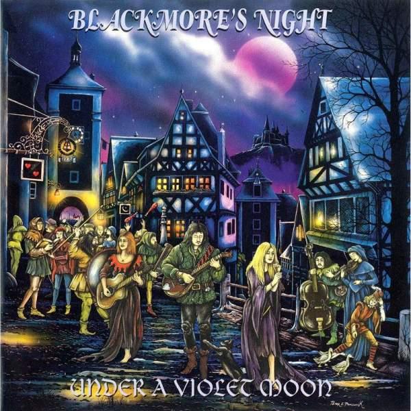 Обложка диска «Under a Violet Moon» («Под фиолетовой Луной»)