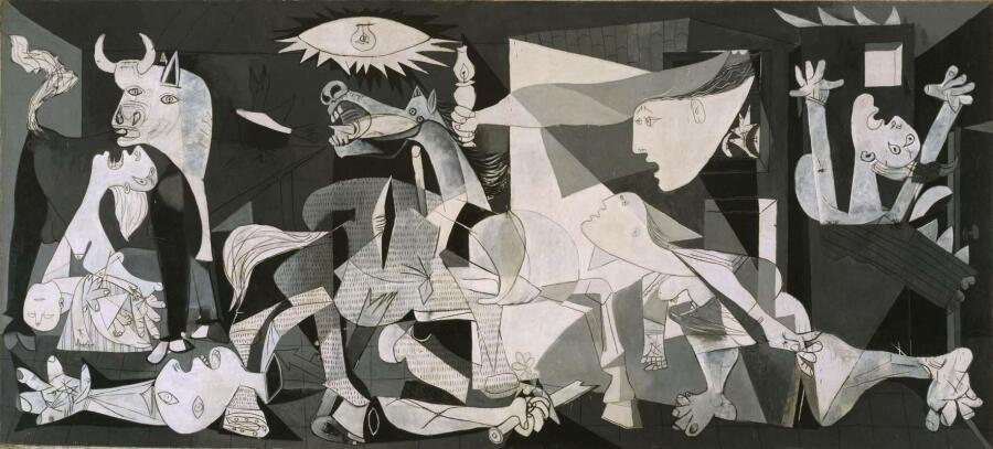 Пабло Пикассо, «Герника», 1937 г.